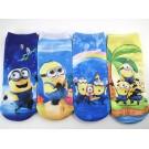 Цветни памучни чорапки с Миньоните